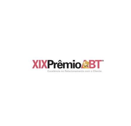 XIX Prêmio ABT - Excelência no Relacionamento com o Cliente 2019